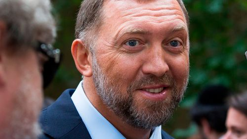 The House issued a symbolic rebuke Thursday to the Trump administration on Russia, overwhelmingly passing a resolution against lifting sanctions on companies tied to oligarch Oleg Deripaska, a Kremlin ally.
