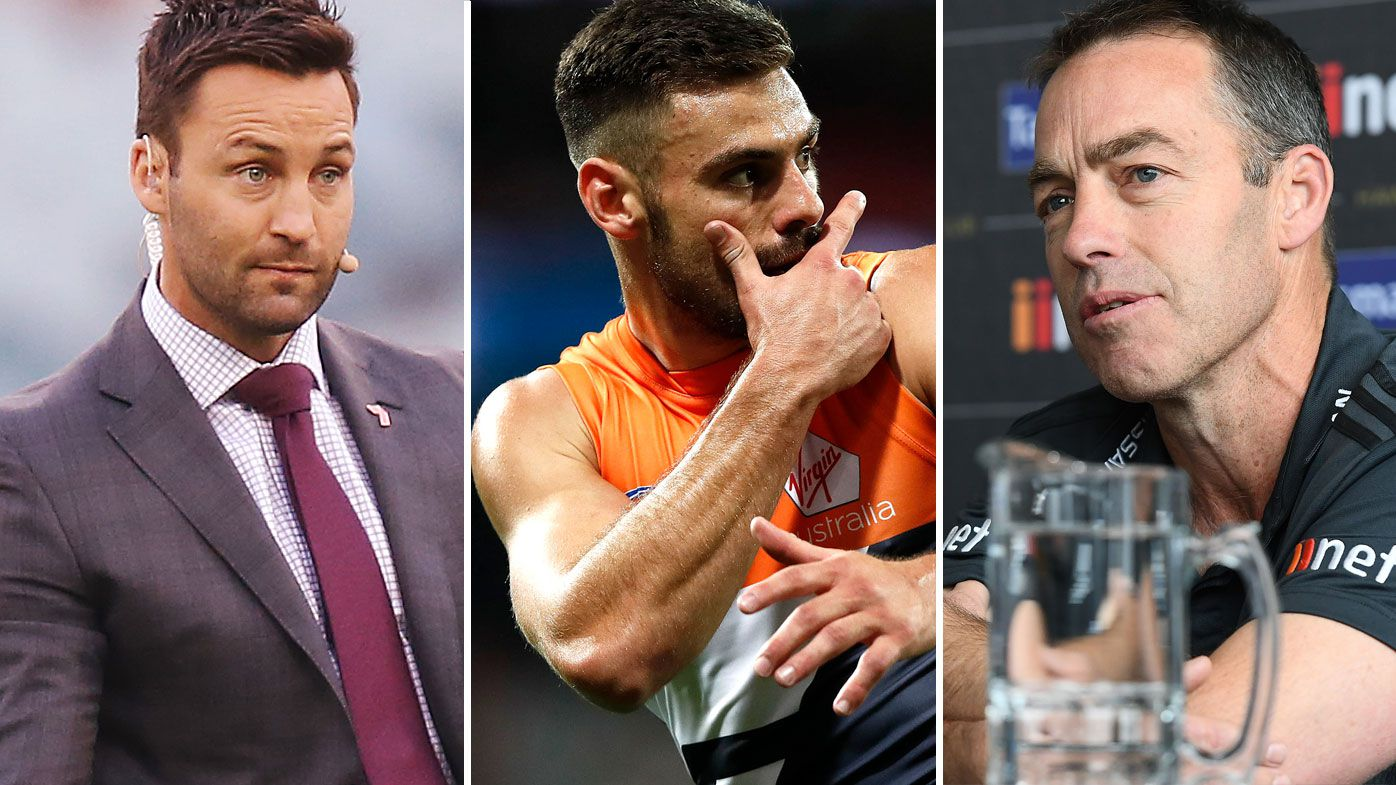 AFL: Jimmy Bartel responds to Alastair Clarkson meeting with Stephen Coniglio