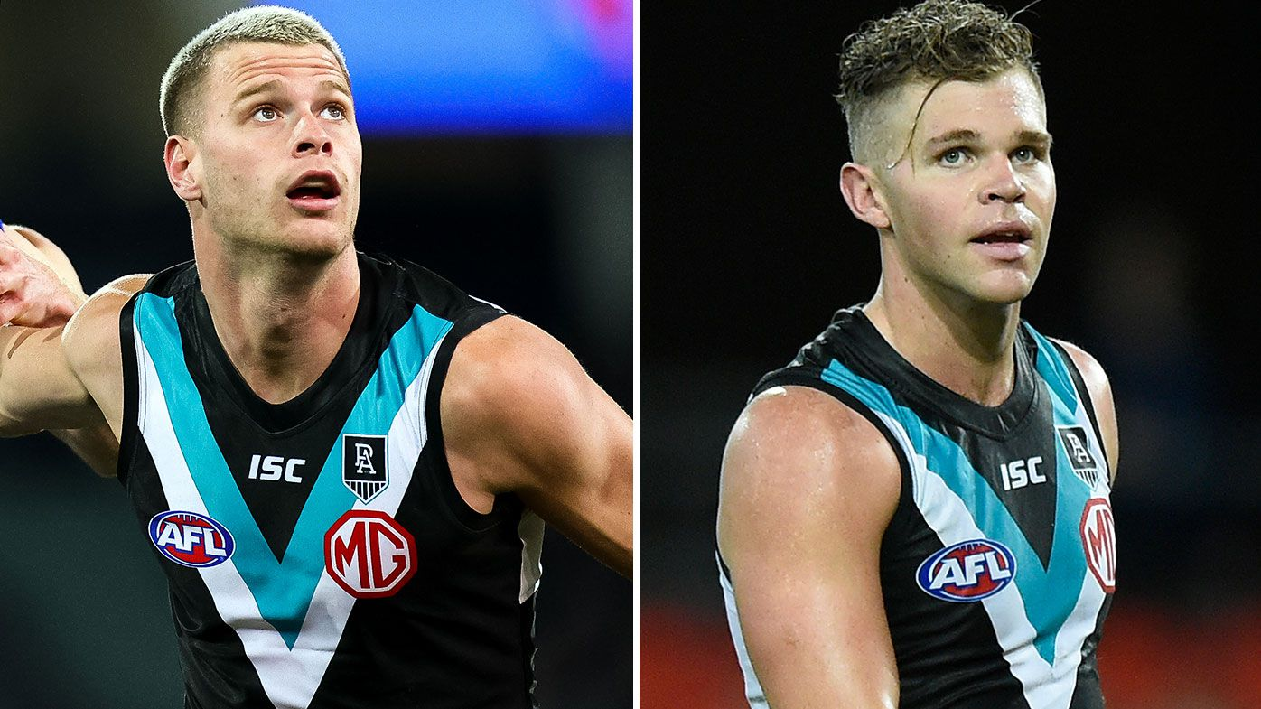 Port Adelaide's Peter Ladhams and Dan Houston suspended for house party, breaking COVID-19 protocols