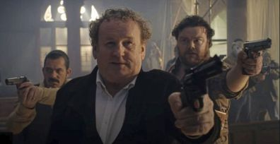 Colm Meaney plays Olivia Cooke's stepdad in Pixie.