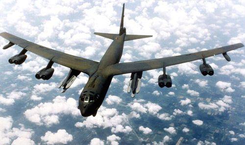A US Air Force B-52 heavy bomber. (Photo: AP).