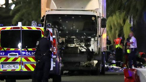 The truck that left 84 dead and more than 300 gravely wounded. Source: AFP