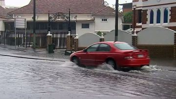 Parts of southeast Queensland were drenched overnight, copping more than 70mm of rain.