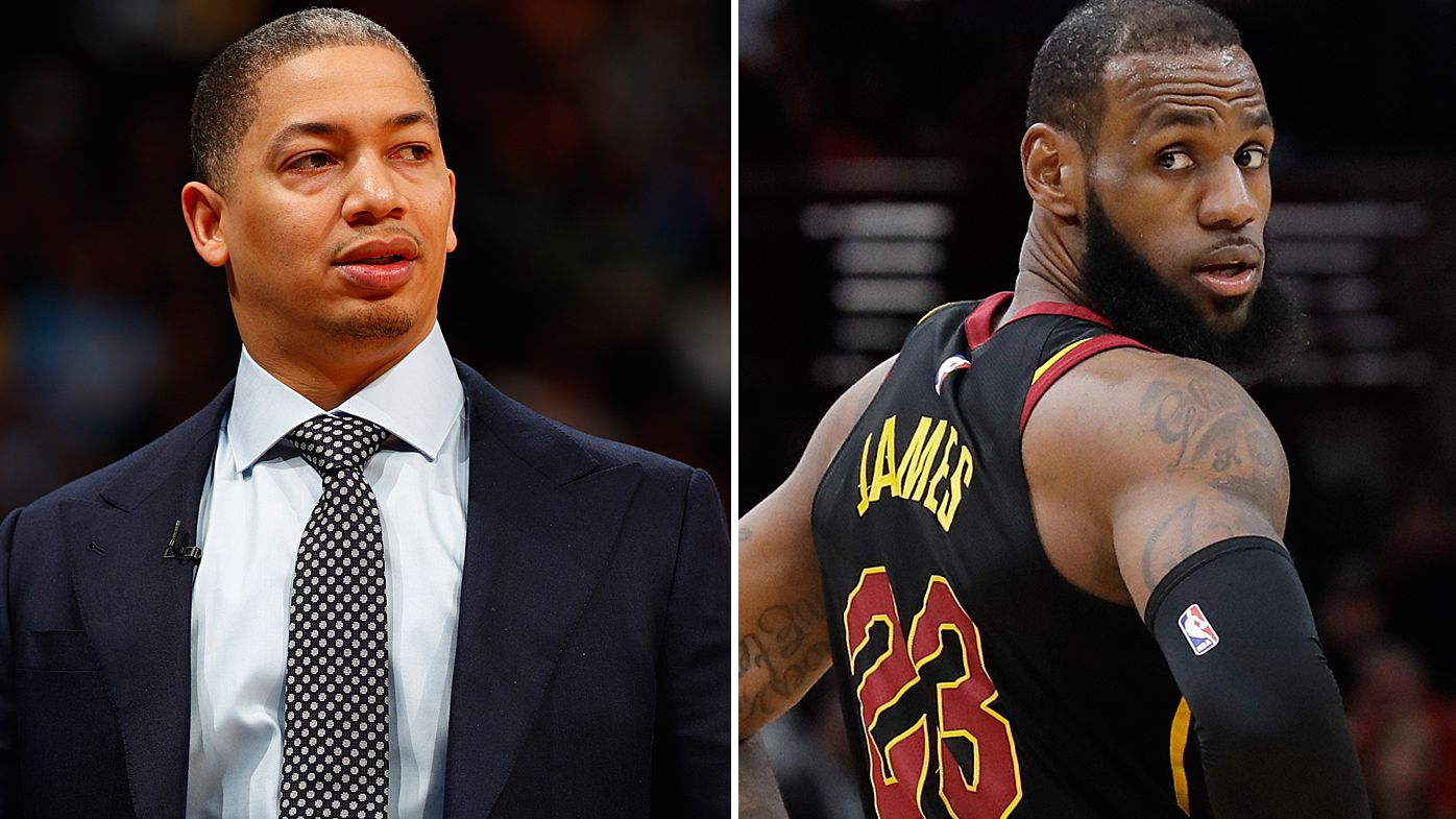 Cleveland Cavaliers coach Tyronn Lue takes leave with 'illness', LeBron James responds to absence