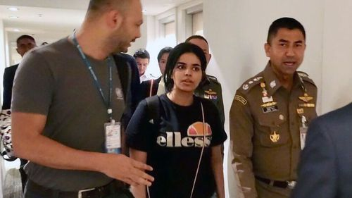 The 18-year-old Saudi teen has been found to be a genuine refugee.