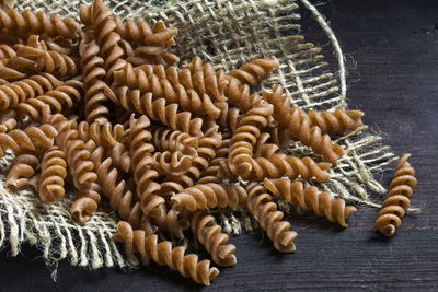 <strong>...wholewheat or brown pasta.</strong>