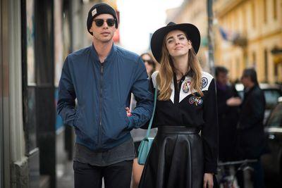 Andrew Arthur and Chiara Ferragni