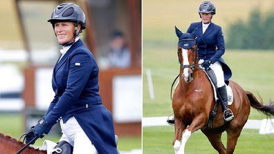 Zara Tindall horse riding third child