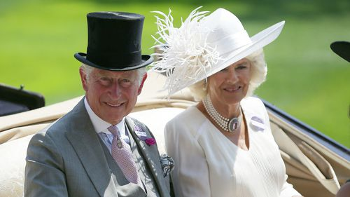 Britain's Prince Charles, Prince of Wales (L) and his wife Britain's Camilla, Duchess of Cornwall at last year's event.