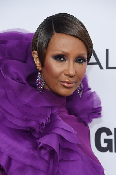 Iman in Cristian Siriano at the Glamour Women of the Year Awards, November 13.
