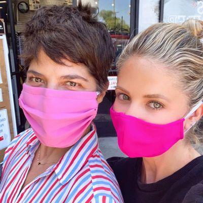 Selma Blair and Sarah Michelle Gellar