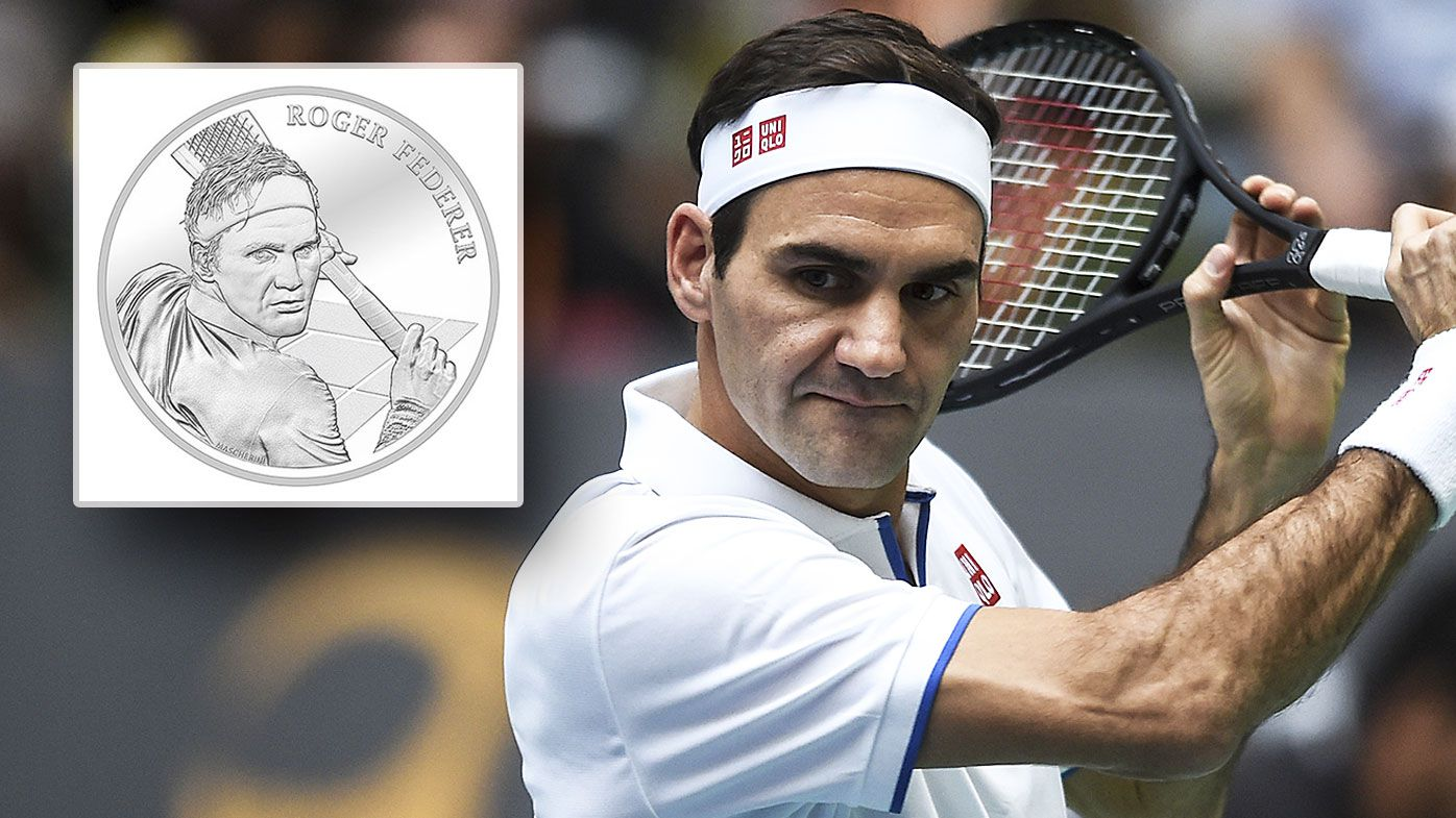 Federer is now on a Swiss coin