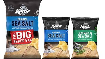 The recalled Kettle chip packets.
