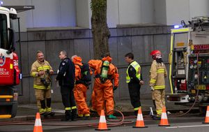 'Highly explosive' material found at Sydney research facility after suspected chemical spill
