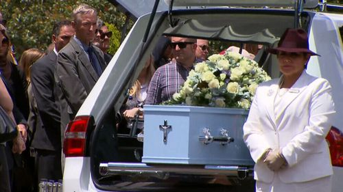 Andrew Encinas was farewelled in Sydney.