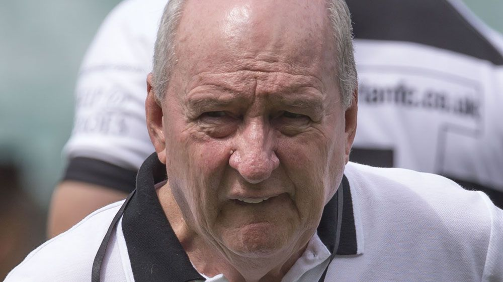 Broadcaster and Barbarians coach Alan Jones slams referee and Australian rugby administrators