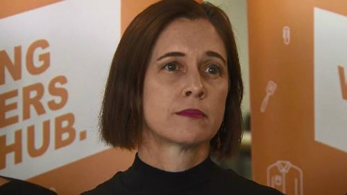 Queensland Council of Unions general secretary Ros McLennan. Picture: 9NEWS