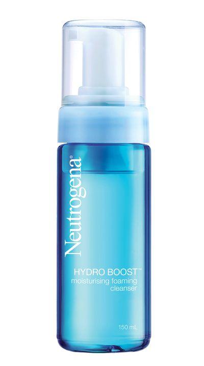 "<p><a href=""http://www.neutrogena.com.au/hydroboost"" target=""_blank"">#4 Hydro Boost Moisturing Foaming Cleanser, $14.99, Neutrogena (out late August)</a></p>"