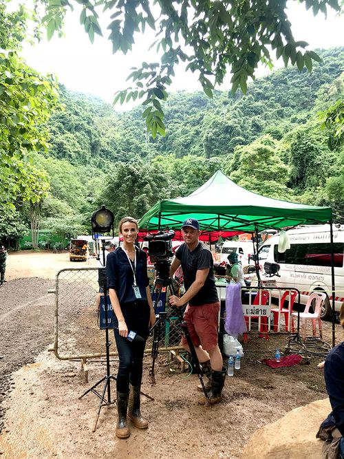 Thai rescue captured 'the very best of humanity', Alice Monfries says. (Supplied)