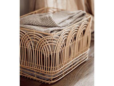 Rattan Rectangle Storage Basket — Target