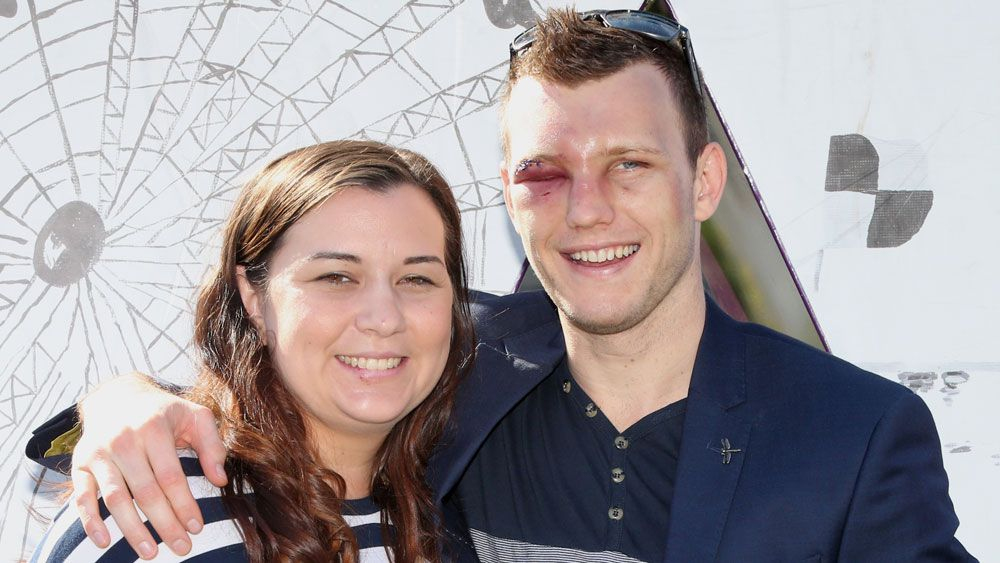 Jeff Horn and Joanna Horn.