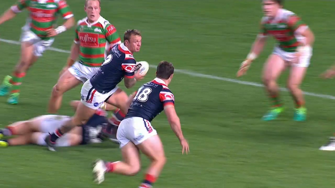 Roosters edge Souths