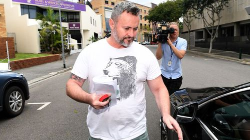 Magill is one of six people accused of defrauding Legal Aid of up to $340,000, and was earlier released on bail under strict conditions.