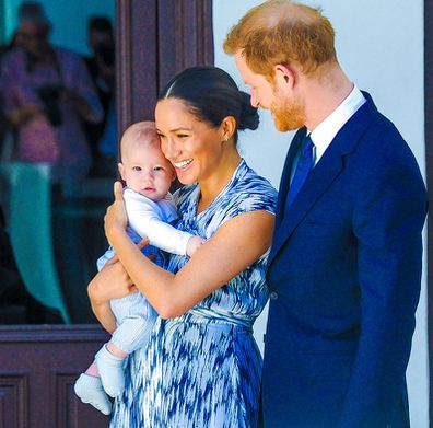 Prince Harry Meghan Markle Archie Harrison Mountbatten Windsor