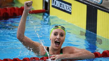 Taylor McKeown won gold at the women's 200m breaststroke final during day three of the Games.
