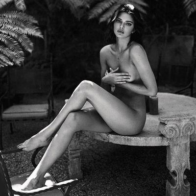 Kendall Jenner nude photoshoot by Sasha Samsonova