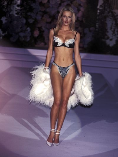 Karen Mulder at the 1999 Victoria's Secret Show