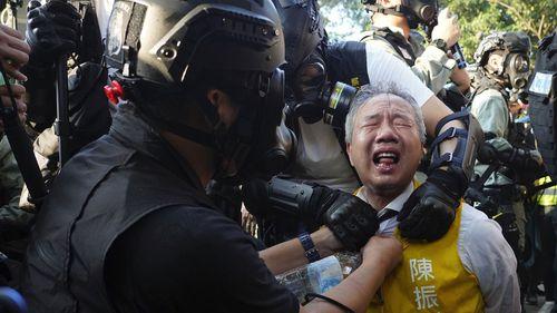 Hong Kong protests 1