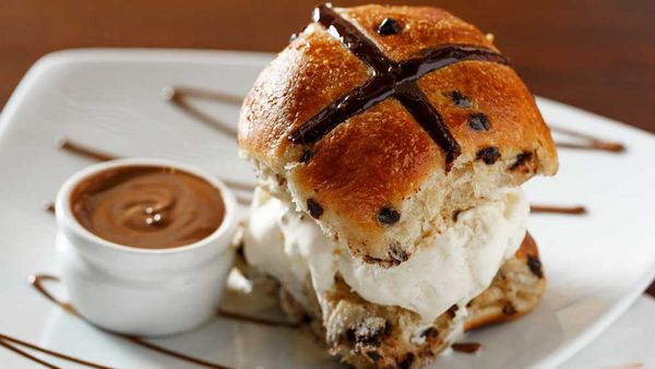 Max Brenner's Not Cross Bun recipe