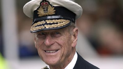 Prince Philip In Military Uniform As Admiral Of The Fleet In The Royal Navy For A Service Of Remembrance For The Iraq War.