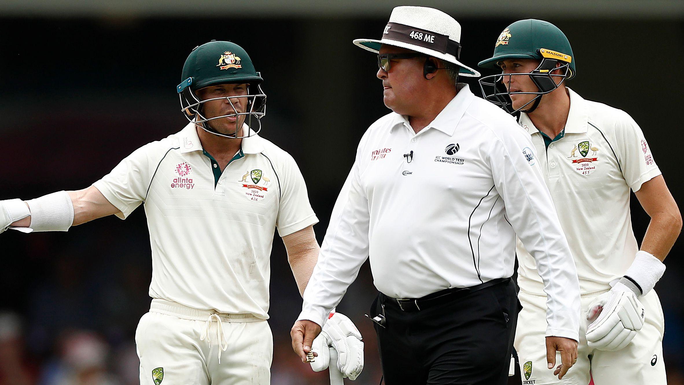 Australia docked five runs as David Warner penalised for running on SCG pitch