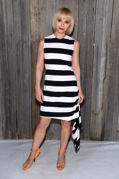 Actress Christina Ricciat Calvin Klein A/W '18 in New York City