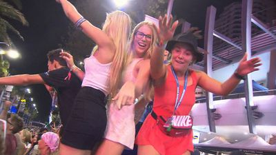 Party zones 'like a permanent Schoolies' on the Gold Coast