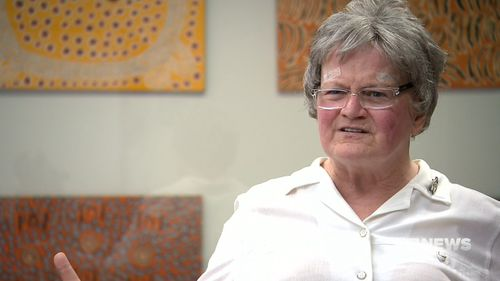 Sydney nun, Sister Carmel Smith, is the first person in the southern hemisphere to undergo a groundbreaking non-invasive essential tremor treatment involving an MRI scan.