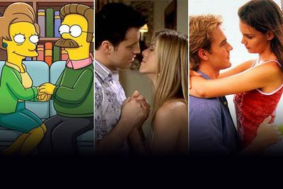 When two TV characters turn romantic, it's usually a cause for celebration. But sometimes the couplings are so repellant, so off-putting, so nauseating that you just have to change the channel, and keep it changed.<br/><br/>These are some of those pairings. If the romance levels around you are becoming dangerously high, sweep away those lovey-dovey feelings with a look at TV's worst couples.