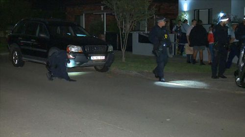 Two teenage girls were among the family members tied up. (9NEWS)