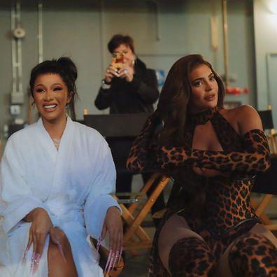 Cardi B, Kylie Jenner