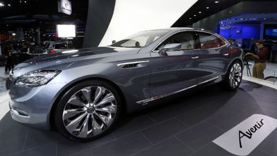 Designed and built in Australia by Holden, the Buick Avenir. (AAP)