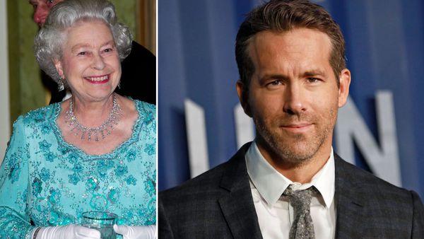 Queen Elizabeth and Ryan Reynolds