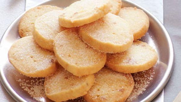 Lemon & ginger shortbread