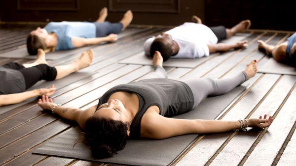 shavasana how to do corpse pose in yoga 9coach