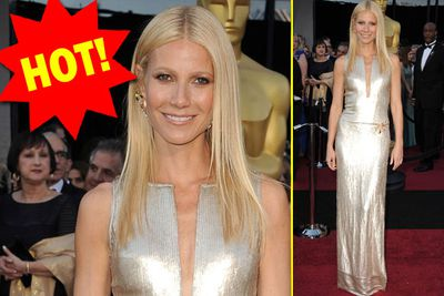 Speaking of frozen in the 90s... Gwyneth's metallic number and flawless bod prove that a life of yoga and wheatgrass can turn back the hands of time!