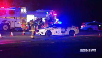 Wedding guests ran over in McClaren Vale