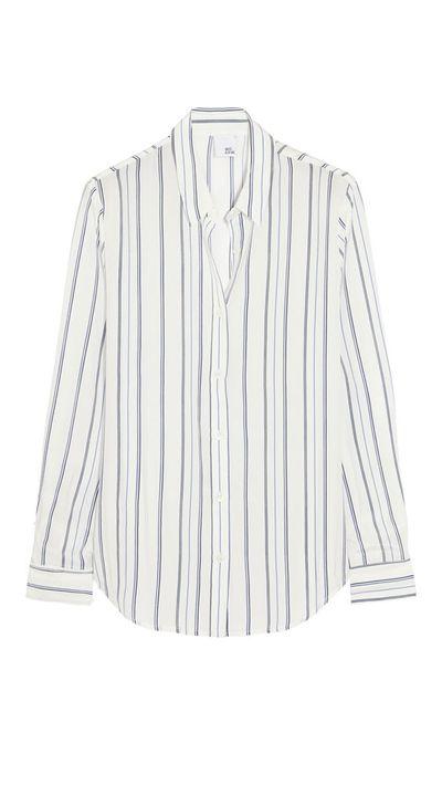 <p>The stripe shirt</p>