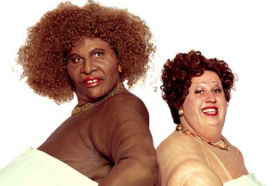 There's so many grotesque characters on <i>Little Britain</i> it's hard to pick the <i>most</i> grotesque, but Bubbles and Desiree are certainly high up on the list.