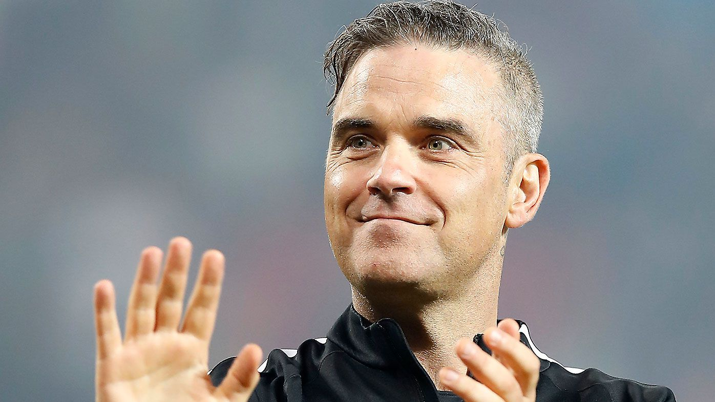 Robbie Williams' anti Russian song under the spotlight at FIFA World Cup opening ceremony